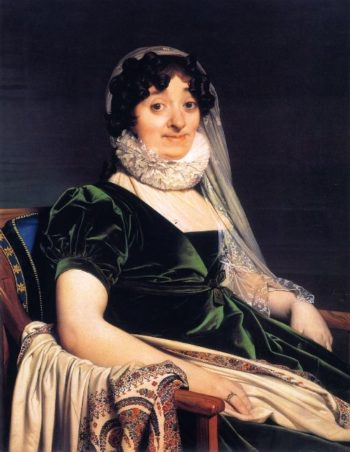 Comtesse de Tournon | Jean Auguste Dominique Ingres | oil painting