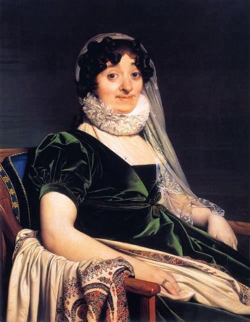 Comtesse de Tournon   Jean Auguste Dominique Ingres   oil painting