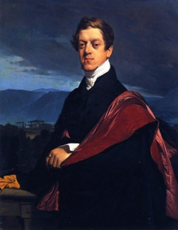 Count Nikolai Dmitrievich Gouriev | Jean Auguste Dominique Ingres | oil painting
