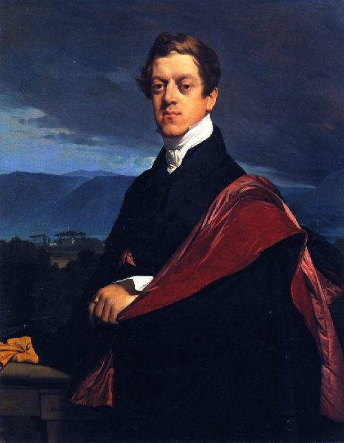 Count Nikolai Dmitrievich Gouriev | Jean Auguste Dominique Ingres | oil painting