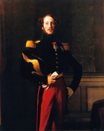 Ferdinand Philippe Louis Charles Henri | Jean Auguste Dominique Ingres | oil painting