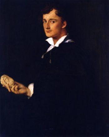 Lorenzo Bartolini   Jean Auguste Dominique Ingres   oil painting