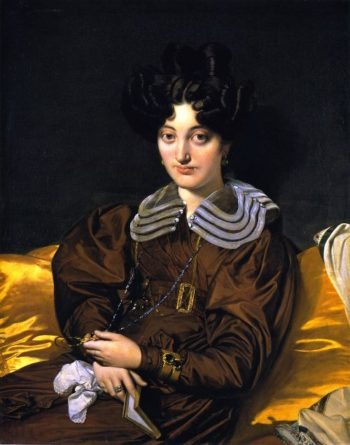Madame Marie Marcotte   Jean Auguste Dominique Ingres   oil painting