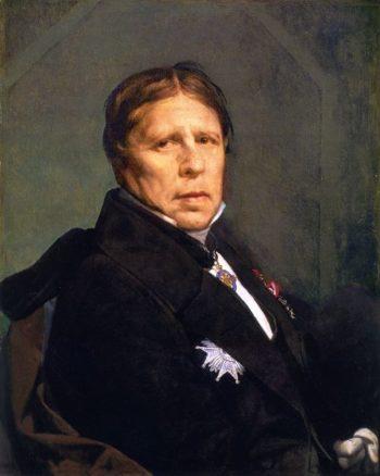 Self Portrait   Jean Auguste Dominique Ingres   oil painting