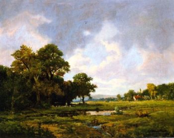 Pastoral Landscape | Jerome Thompson | oil painting