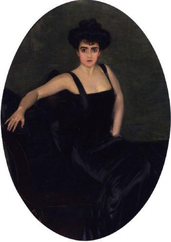 Esperanza Conill de Zanetti | Joaquin Sorolla y Bastida | oil painting