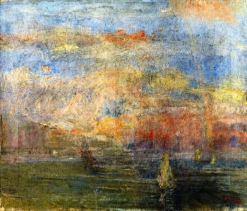 After the Storm | James Ensor | oil painting