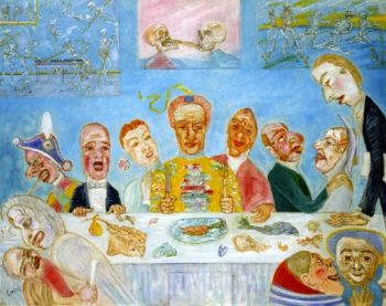 Banquet of the Starved | James Ensor | oil painting