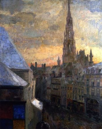 Brussels Town Hall | James Ensor | oil painting