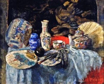 Chinoiseries with Fans | James Ensor | oil painting