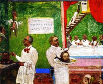 Dangerous Cooks | James Ensor | oil painting