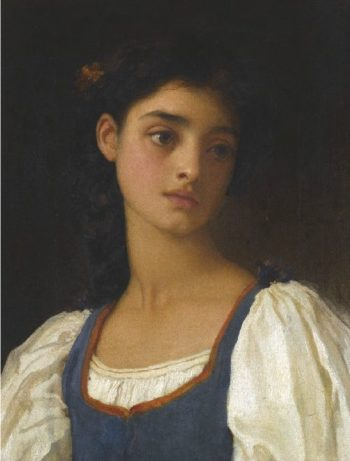Nicandra | Sir Frederick Lord Leighton | oil painting