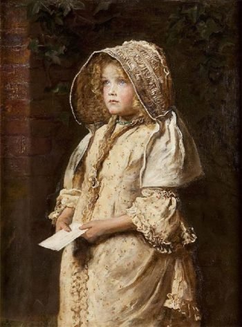For The Squire | Sir John Everett Millais | oil painting