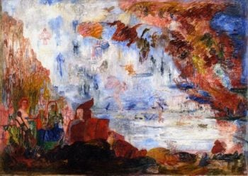 Family Tribulations of Saint Anthony | James Ensor | oil painting
