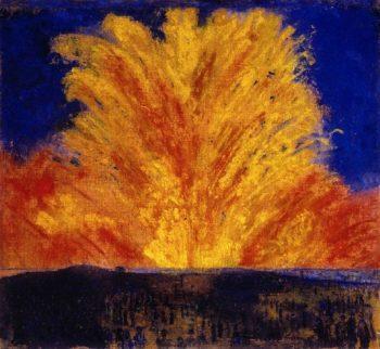 Fireworks | James Ensor | oil painting