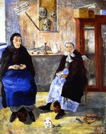 Melancholy Fishwives | James Ensor | oil painting
