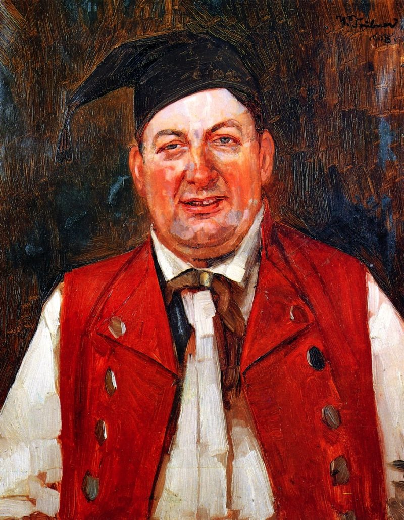 Actor Konrad Dreher | Wilhelm Trubner | oil painting