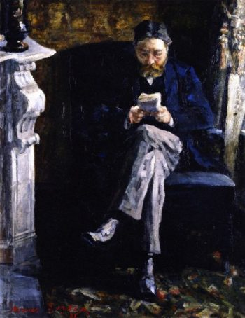Portrait of the Artists Father | James Ensor | oil painting