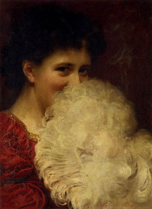 A Plume Of Smoke | Thomas Benjamin Kennington | oil painting