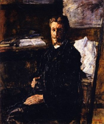 Portrait of Willy Finch   James Ensor   oil painting