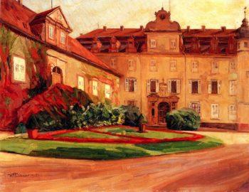 Baden Baden Castle | Wilhelm Trubner | oil painting
