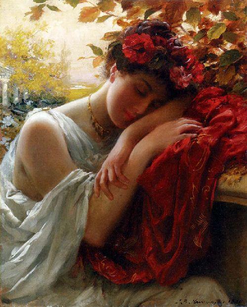 Autumn | Thomas Benjamin Kennington | oil painting