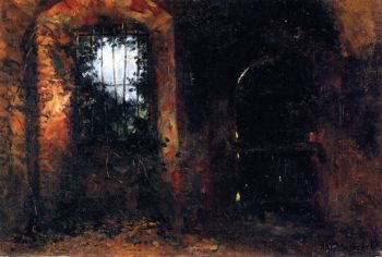 Basement Window in Heidelberg Castle | Wilhelm Trubner | oil painting