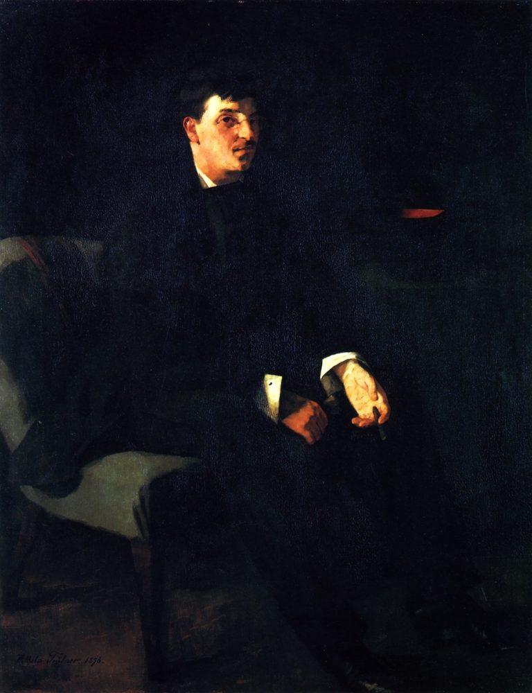 Carl Schuch   Wilhelm Trubner   oil painting
