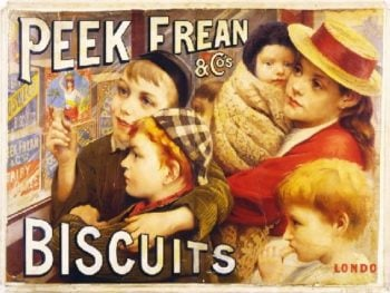 Peek frean cos biscuits London | Thomas Benjamin Kennington | oil painting