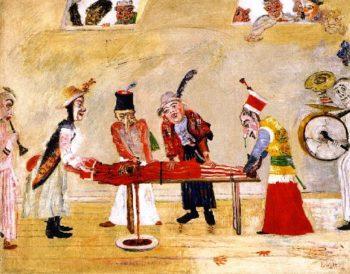 The Assassination | James Ensor | oil painting