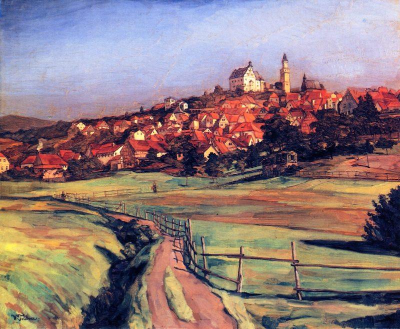 Cronberg im Taunus | Wilhelm Trubner | oil painting