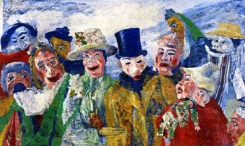 The Intrigue | James Ensor | oil painting