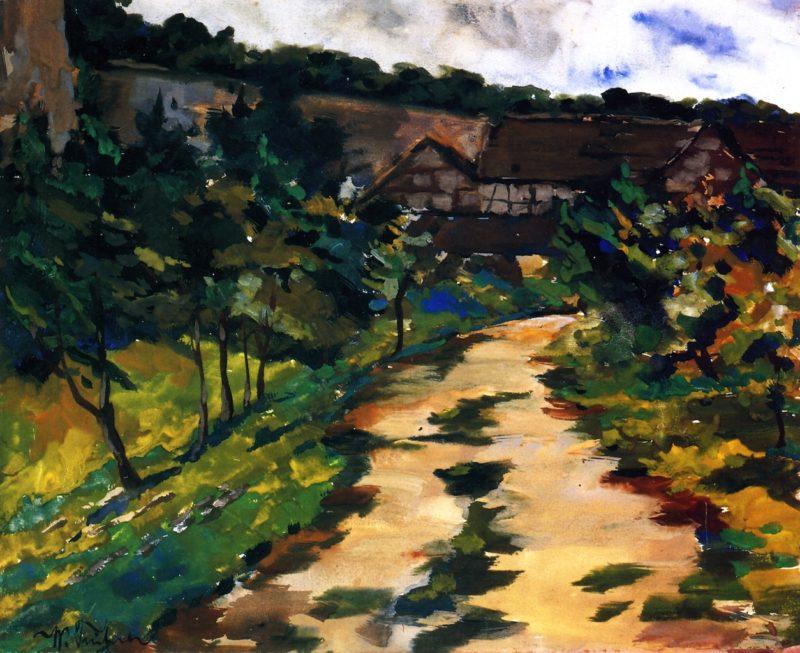 Ermatingen am Bodensee   Wilhelm Trubner   oil painting