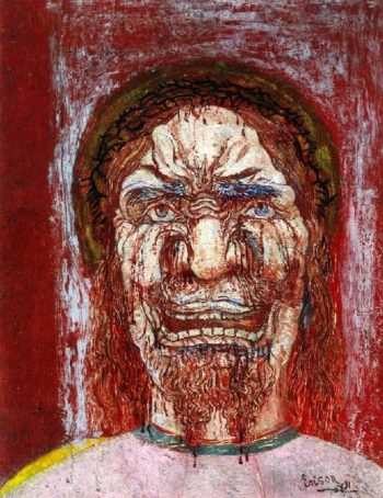 The Man of Sorrows | James Ensor | oil painting