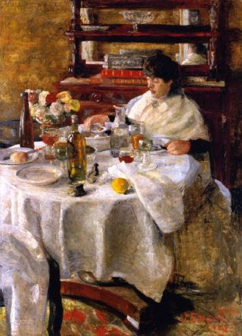 The Oyster Eater | James Ensor | oil painting