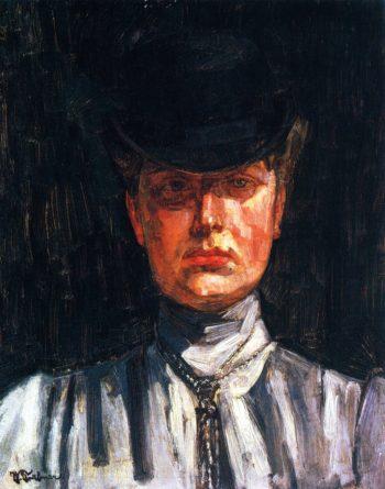 Erna von Holzhausen | Wilhelm Trubner | oil painting