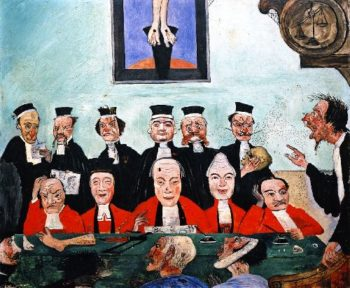 The Wise Judges | James Ensor | oil painting