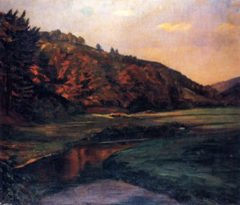 Marbachtal im Odenwald | Wilhelm Trubner | oil painting