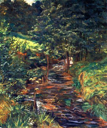 Mausbachtal bei Stift Neuburg | Wilhelm Trubner | oil painting