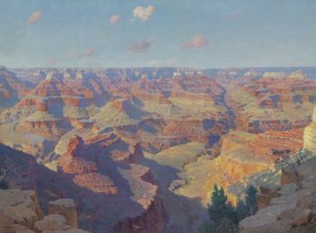 Grand Canyon | William Robinson Leigh | oil painting