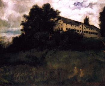 Monastery on Herreninsel | Wilhelm Trubner | oil painting
