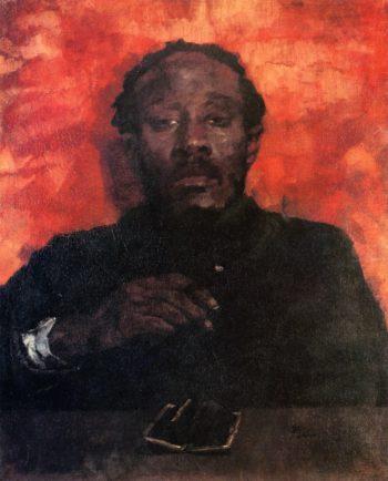 Moor Smoking | Wilhelm Trubner | oil painting