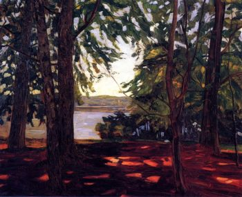 Park Knorr am Starnberger See | Wilhelm Trubner | oil painting