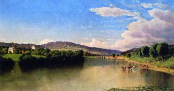 River Landscape | John Williamson | oil painting