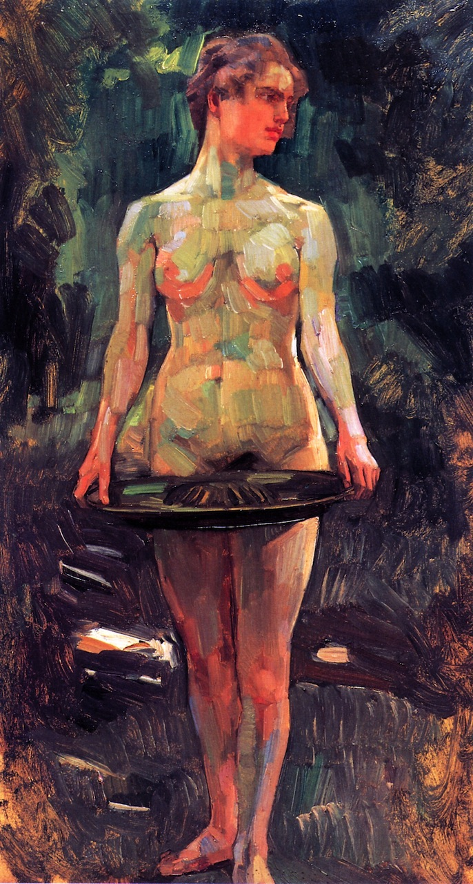 Pomona | Wilhelm Trubner | oil painting