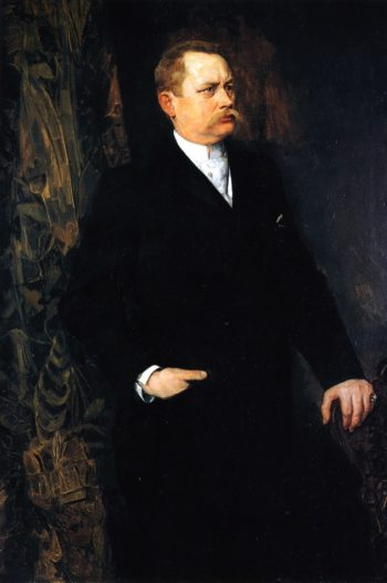 Portrait of a Man | Wilhelm Trubner | oil painting