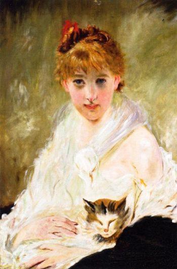 Her Favorite | Charles Chaplin | oil painting