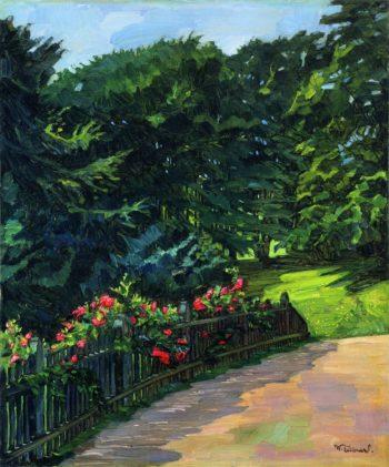 Rosebush | Wilhelm Trubner | oil painting
