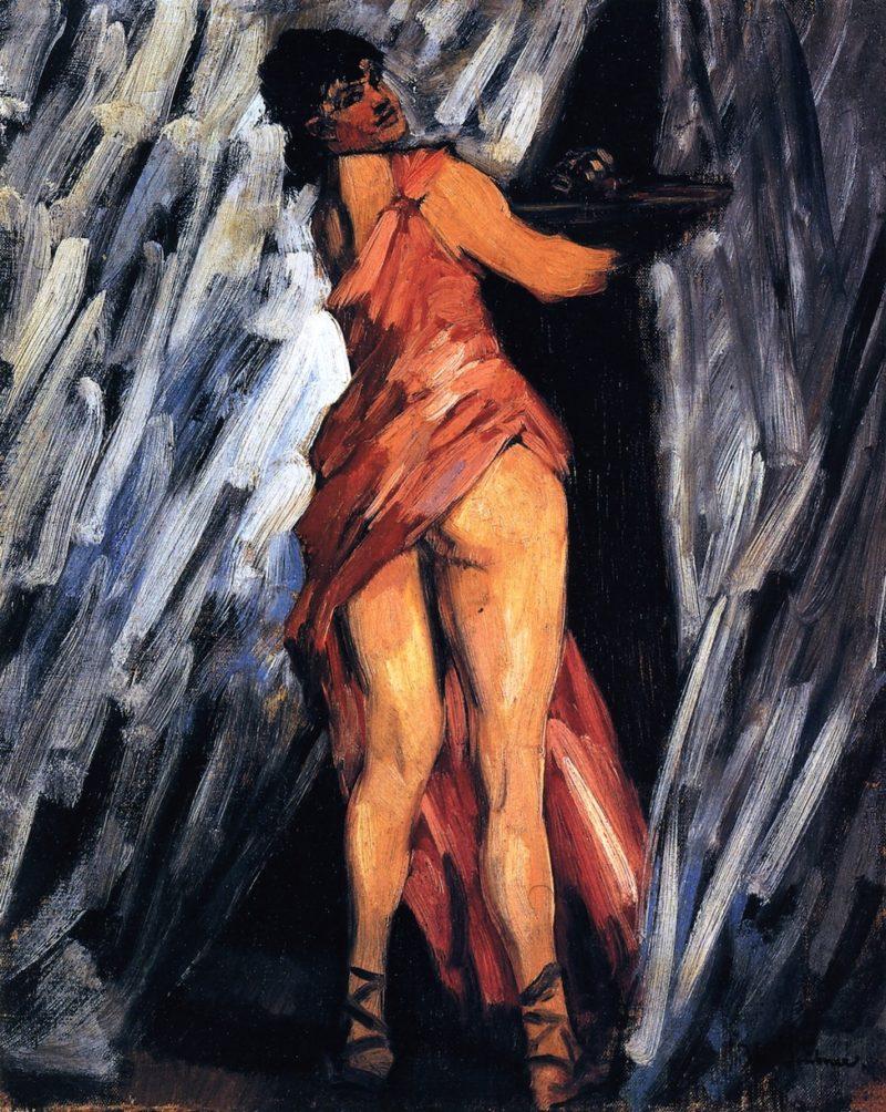 Salome   Wilhelm Trubner   oil painting