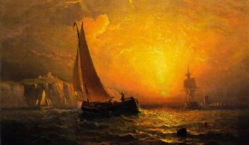A Luminous Coast | Charles Henry Gifford | oil painting